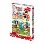 Puzzle Minnie 2x77 dílků 26x18cm