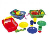 Piknikový set mini v košíku - mix variant či barev
