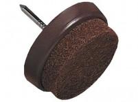 ochrana podlah filcová s hřebíčkem do nábytku 30mm HN (8ks) blistr