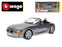 Bburago 1:24 BMW Z4 šedé