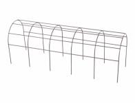 Mřížka opěrná pro truhlíky kovová hnědá 50cm