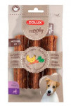 Pochoutka Mooky Premium drůbež/mrkev M 3ks Zolux