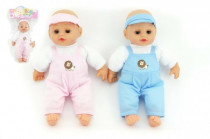 Panenka miminko měkké tělo 27cm - mix barev