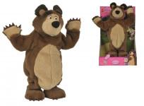 Máša a medvěd Plyšový tančící medvěd 35 cm