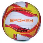 Spokey LAUFER Volejbalový míč bílo-červeno-žlutý rozm. 5