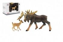 Zvířátka safari ZOO 12cm los plast