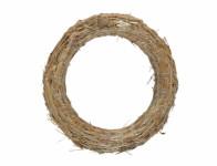 Kruh aranžovací slámový d25/4cm