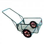 vozík RAPID IV, duše+plášť, komaxit, 450x640x280(1320) mm