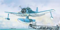 Model Curtiss SC-1 Seahawk 15,5x17,3cm