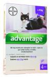 Advantage 80mg pro velké kočky a králíky, 4x 0,8ml roztok pro nakapání na kůži