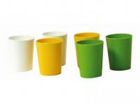 odlivka 40ml plastová (6ks) - mix barev
