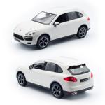 RC model Porsche Cayenne 1:14, bílá metalíza, Rastar