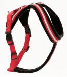 Postroj nylon Comfy červeno/černý The Company 3 X Small