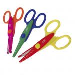 Dětské nůžky - 3 vzory - 13 cm, 24 ks displej (jen celé balení)