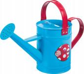Dětská konvička kovová modrá Stocker