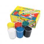 Plakátové barvy v kelímku 6 barev