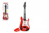 Kytara plast 54cm na baterie se zvukem se světlem