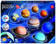 Planetární soustava; 960 dílků 3D