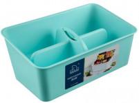 organizér na koření 28x16,5x12cm plastový - mix barev