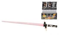 Laserový meč skládací 86 cm na baterie se světlem a zvukem - mix barev