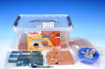 Stavebnice Teifoc School Set 320ks v plastovém boxu s úchyty