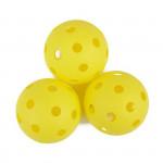 Spokey Turn florbalové míčky 3ks žluté