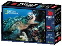 Puzzle 3D 500 dílků, gorily, sloni, Řím