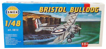 Model Bristol Bulldog 1:48 15,3x21,1cm
