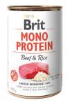 Brit Mono Protein konz. Beef & Rice 400 g