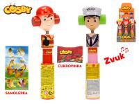 Cosby figurka profese 23 cm se zvukem s cukrovinkou a samolepkou - 12 ks - mix variant či barev