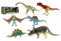 Sada Dinosaurus hýbající se 6ks plast