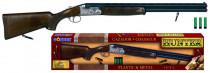 Puška lovecká kovová + náboje