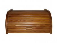 chlebovka 39x28x18cm dřev. světlý ořech