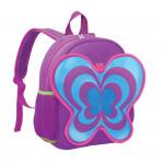 Easy 920502 batoh neoprenový - dětský, motýl fialový