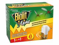 Odpařovač BIOLIT elektrický vůně pomeranče 45 nocí 27ml