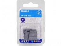klínek č.2, 21x25mm (4ks)