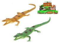 Krokodýl pískací 35 cm - mix barev