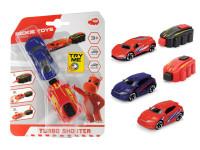 Autíčko s vystřelovací rampou Turbo shooter - mix variant či barev - VÝPRODEJ
