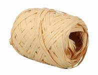 Stuha RAFIA vajíčko natural šířka 12,5mm délka 20m