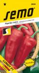 Semo Paprika zeleninová sladká F1 - Lungy F1 na pole i k rychlení 15s