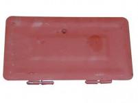 dvířka komínová dvojitá, základní barva, 160x320mm