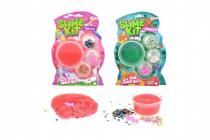 Sada na výrobu slizu s doplňky pro holky - mix variant či barev
