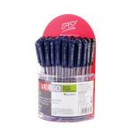 Verso kuličkové pero 36 ks v plast. stojánku mix modrá/černá