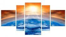 Obrazy Západ slunce nad horizontem 3105