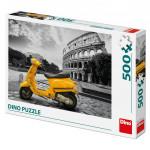 Puzzle 500 dílků Skútr u Kolosea
