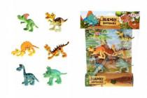 Veselá zvířátka Dinosauři plast