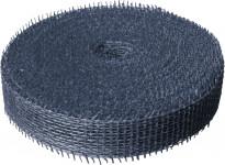 Jutová stuha 4 cm x 25 m - tmavě modrá
