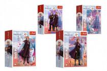 Minipuzzle 54 dílků Ledové království II/Frozen II 4 druhy