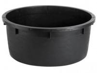 nádoba na vodu 130l, pr.80cm, v.34cm plastová, ČER