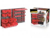 systém závěsný+10 boxů na nářadí ORDERLINE 800x195x400mm